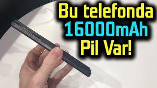 16000mAh pilli telefon elimizde | Energizer'dan pil atağı