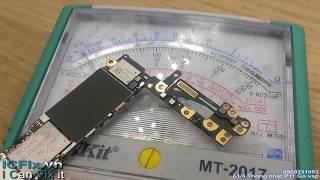 Sửa iPhone 6 không bật được đèn flash camera