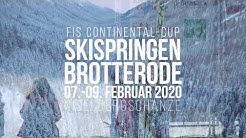 Skispringen am Inselberg - FIS Continental Cup 2020
