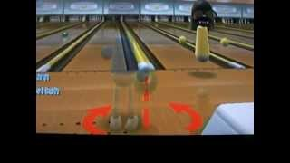 WII SPORTS TRICK: MAKE BOWLING BALLS GO INTO OTHER LANES