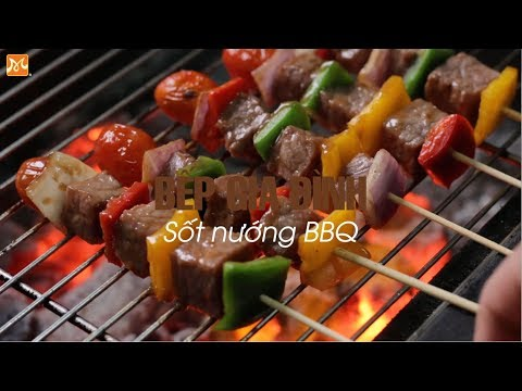 Hướng dẫn làm sốt nướng BBQ | Học nấu ăn gia đình | Hướng Nghiệp Á Âu