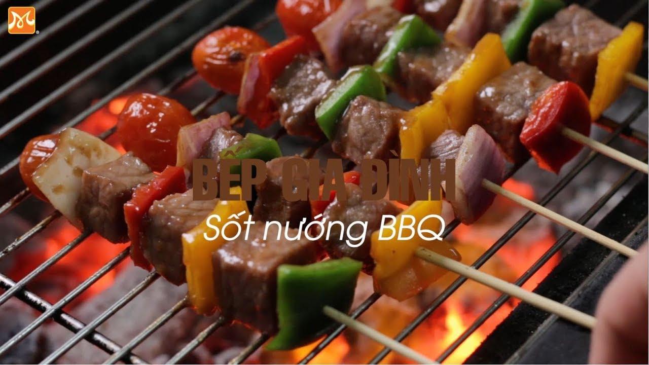 Hướng dẫn làm sốt nướng BBQ   Học nấu ăn gia đình   Hướng Nghiệp Á Âu