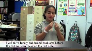 Deaf Elementary FCAT Pep Rally Video 2013