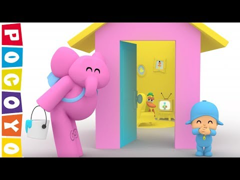 POCOYO in English NEW SEASON FULL episode: HOUSE OF COLORS