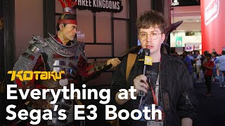 Sega's E3 Booth With Tim Rogers