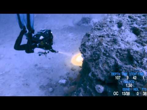Trimix 108 Meters Dive