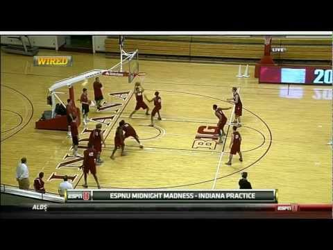 2012-2013 Indiana Hoosiers Men's Basketball First Practice