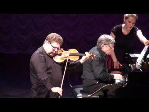 Ilya Konovalov, violin, Mark Shaviner, piano. Dvorak, Prokofiev