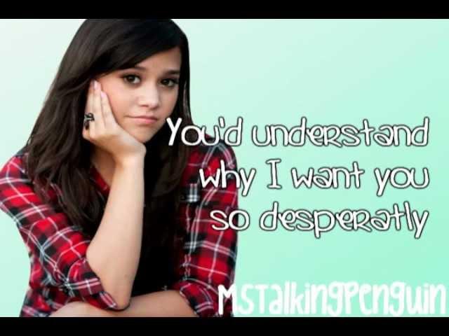 Megan Nicole What Makes You Beautiful Cover Lyrics Youtube