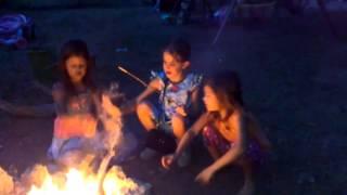 Campfire girls!