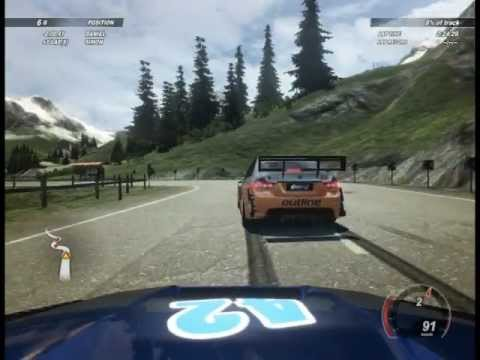 Crash Time 5 - Alps Highway, Razor CTR Race