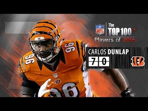 #70: Carlos Dunlap (DE, Bengals) | Top 100 NFL Players of 2016