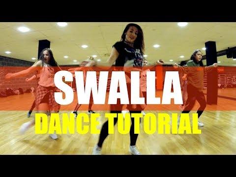 SWALLA - Jason Derulo ft Nicki Minaj Dance TUTROIAL Video | @brendonhansford Choreography