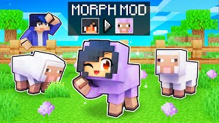 Using MORPH MOD To Cheat In Minecraft!
