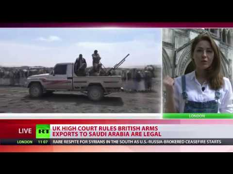 High Court rules UK arms sales to Saudi Arabia are legal
