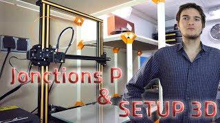 IMPRESSION 3D - MEUBLE A JONCTION P (MON SETUP 3D)