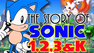 Sonic: A Chronological History & Rare Facts (Part One) The Story of Sonic 1-3 & Knuckles