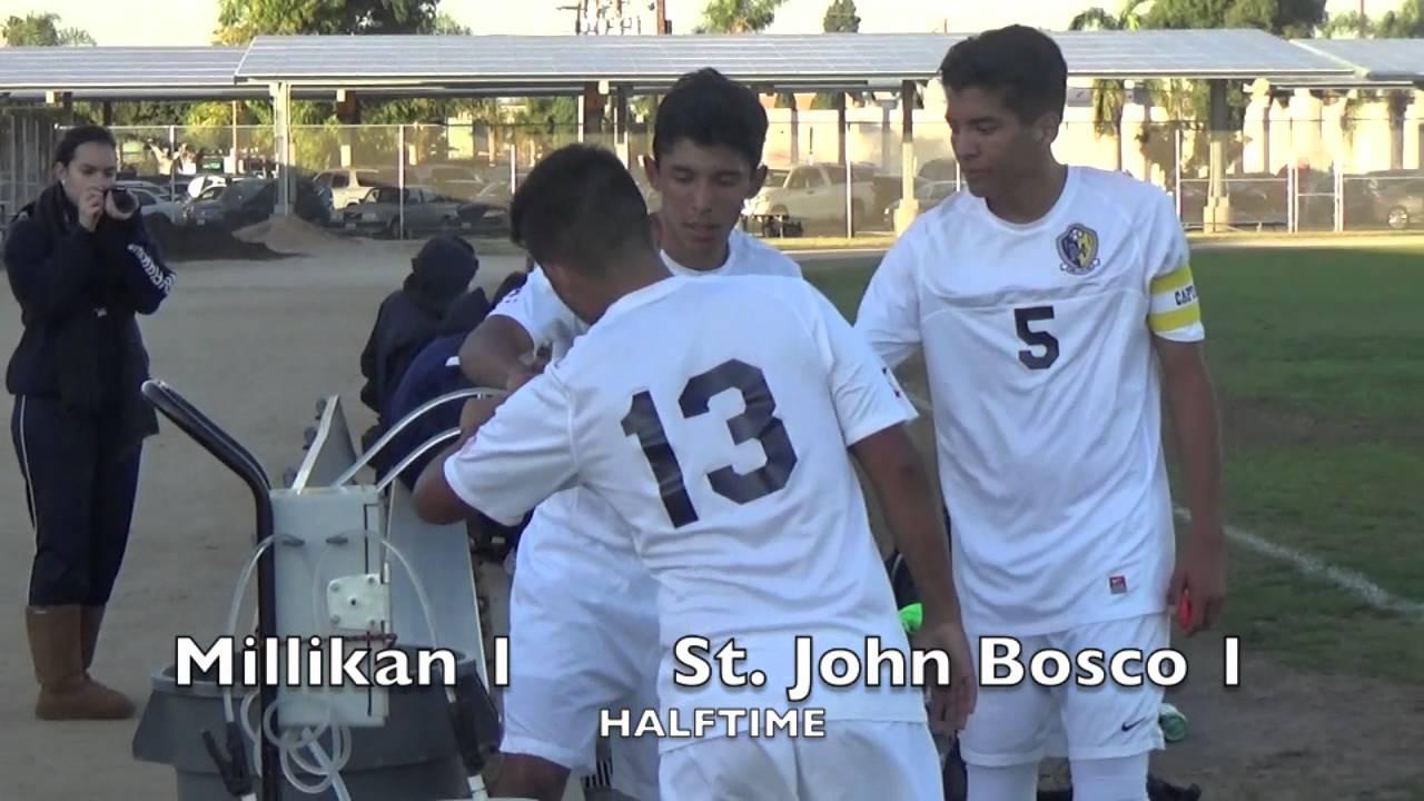 High School Soccer St John Bosco Vs Millikan Youtube