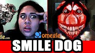 Smile Dog Scares on Omegle