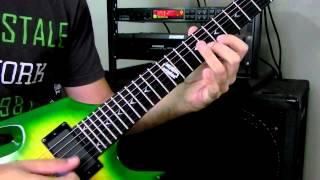In Flames - Zombie Inc Solo Cover (Dean Razorback 255, Engl E530)