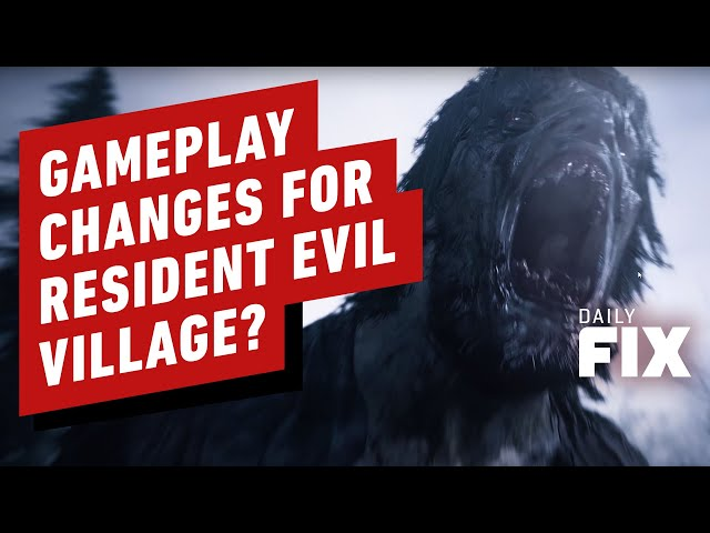 Capcom Talks Gameplay Changes for Resident Evil Village - IGN Daily Fix