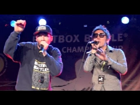 Hikakin × Bee Low - Beatbox World Championships 2012 in Berlin