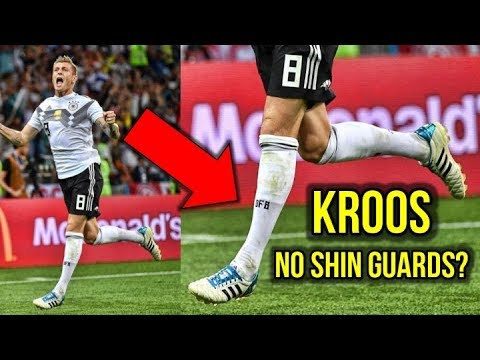 TONI KROOS DOES NOT WEAR SHIN GUARDS?