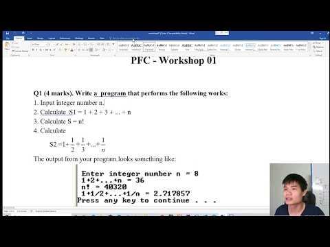Giải bài tập lập trình C cơ bản