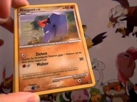 2 Pokemon Booster Platin & Ultimative Sieger Opening