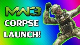 MW3 Funny Corpse Launch Montage   Funny Killcams, Moments, and Kills + AON Bonus Clip