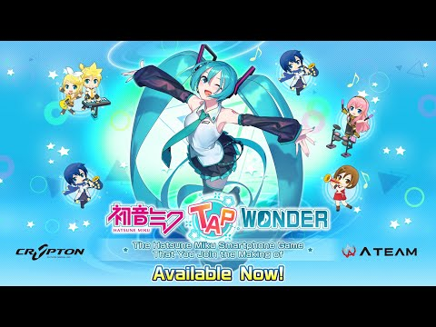 HATSUNE MIKU Tap Wonder Gameplay Android / iOS