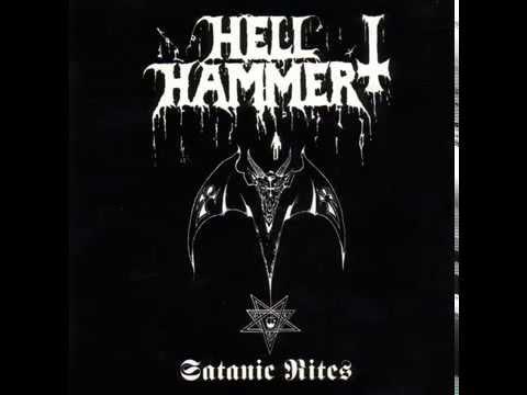 HELLHAMMER - Satanic Rites [FULL ALBUM] 1983