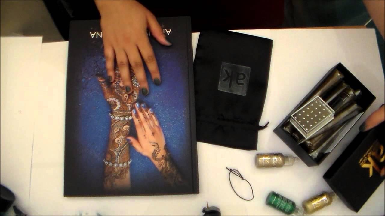 Jacquard Mehndi Henna Kit Ingredients : Ash kumar products review youtube