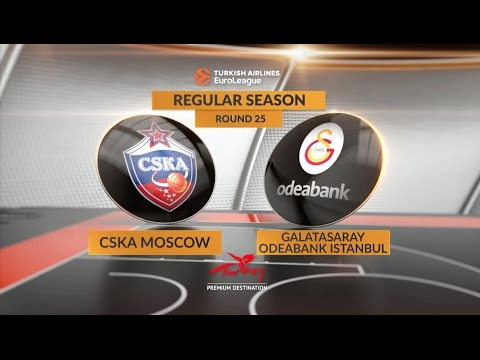 Highlights: CSKA Moscow-Galatasaray Odeabank Istanbul