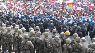 El pueblo unido jamás será vencido - Chile 11. september 1973