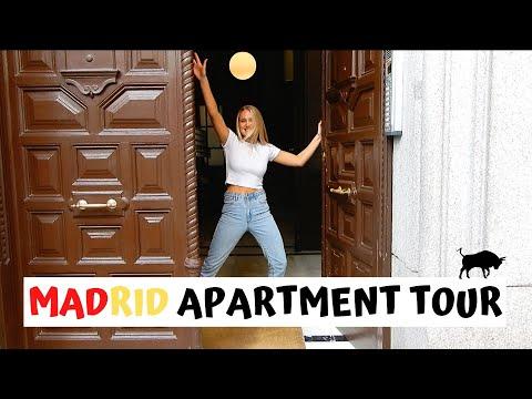 Madrid Apartment Tour + meet my housemates!