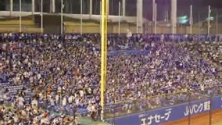 2017年10月1日 東京ヤクルトスワローズvs中日ドラゴンズ 明治神宮球場 ※...