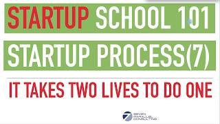 Startup School Series - Startup Life Cycle (Part 7) Startup Is Two Lives Lived In One