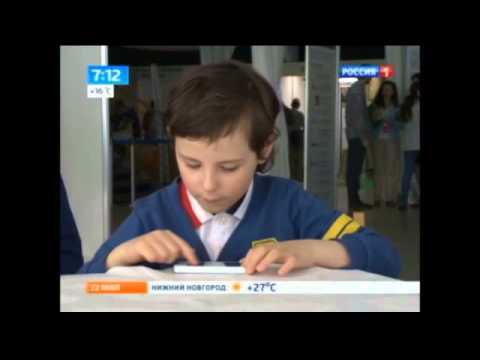О влиянии мобильных телефонов на здоровье школьников (Россия-1)