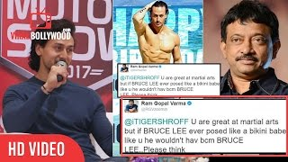 Tiger Shroff Reply To Ram Gopal Varma Tweet On His Birthday | Viralbollywood