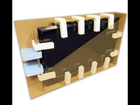 Ecobox Flat screen TV Box Moving Kit Tutorial