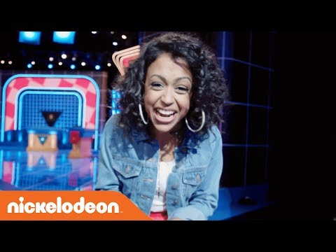 Go BTS 🎬 w/ Liza Koshy & Marc Summers on the Set of The ALL NEW Double Dare | Nick