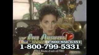 Psychic Solution Hotline Commercials (January 2000)