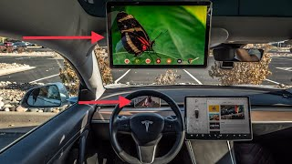 How to Mount Phone in Tesla Model 3 and Movie Mode