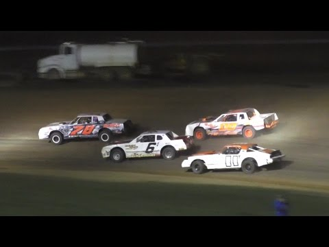 Pure Stock Feature   McKean County Raceway   Fall Classic   10-15-16