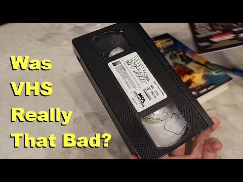 VHS Tapes - Were they as bad as we remember?