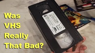 VHS Tapes - Were they as bad as we remember? thumbnail