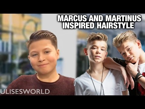 Marcus and Martinus inspired Hairstyle - FULL TUTORIAL