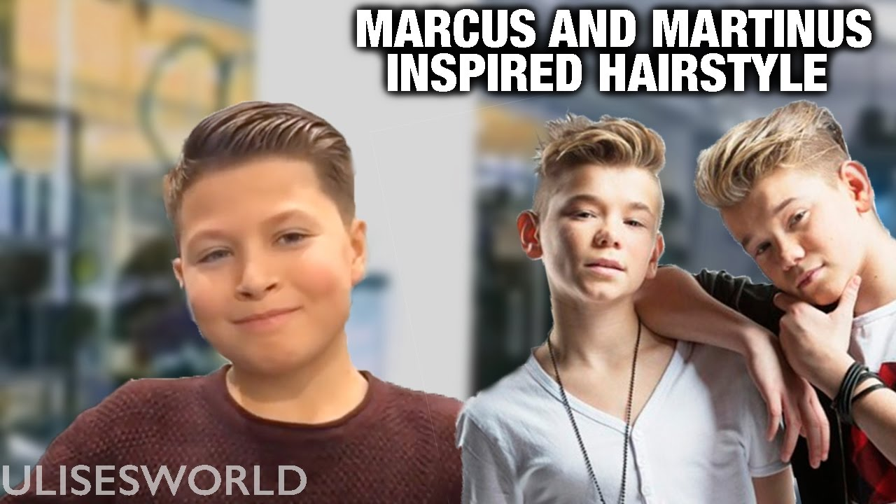 Marcus And Martinus Inspired Hairstyle Full Tutorial Youtube