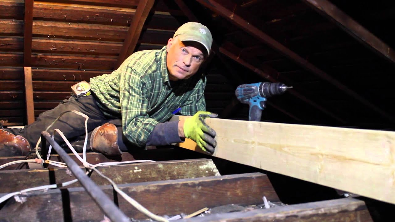 Historic Home Attic Strong Back Youtube
